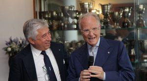 Antonio D'Amato e Gianni Carità