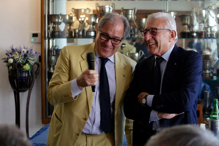 Massimo Moschini e Gianni Russo